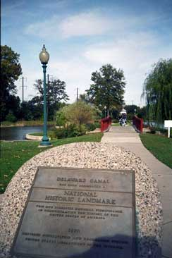 Bristol Lagoon and National Landmark Plaque